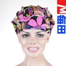 New  Women Bouffant Surgical Scrub Medical Chemo Hat/Cap Chun tian lai le