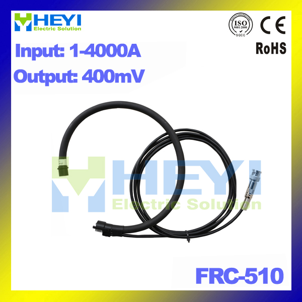 light flxible ct FRC-510 Input : 1~4000A Output : 400mV Flexible Rogowski Coil with BNC connector frc 210 input 1 1000a output 38mv with bnc connector inner diameter 60mm flexible rogowski coil