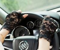 kursheuel женская Seal kruger наручные короткие перчатки без пальцев уф-защита солнцезащитный свадебные гольф зарплата по борьбе с уф