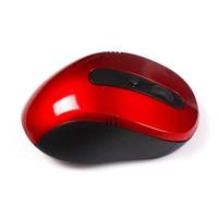 бесплатная доставка портативный оптическая беспроводная мышь с USB-ресивер рф 2.4 г для настольных и портативных пк компьютерная периферия аксессуары