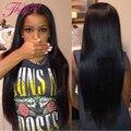 8а Класс Черные Как Смоль Необработанные Бразильский Прямо Девы Волос 3 Пучки Дешевые Бразильские Прямые Волосы 300 г Человеческих Волос Weave # 1B
