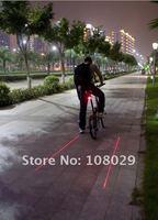 3 Уэйд красный из светодиодов 2 лазер велосипед свет комплект lazer безопасности свет