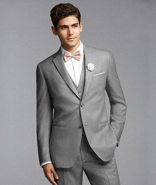 2016 New arrival Groom Tuxedos Suit Wedding Groomsmen Bridegroom ...