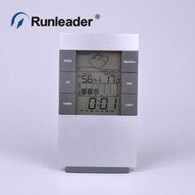 Buy online New LCD LED Light Digital Indoor Sensors Thermometer Temperature Hygrometer Humidity C/f clock Time Alarm Calendar Backlit Meter
