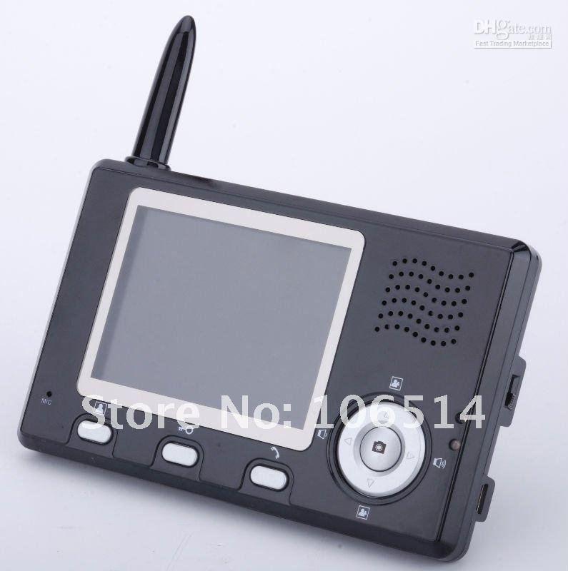 """2.4 ГГц цифровой беспроводной видео-телефон двери 3."""" и 7''tft цветной дисплей видеодомофон дверной звонок просмотра домофон система"""