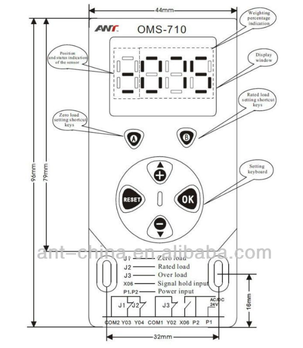 New Products On China Market Elevator Load Cell Controller