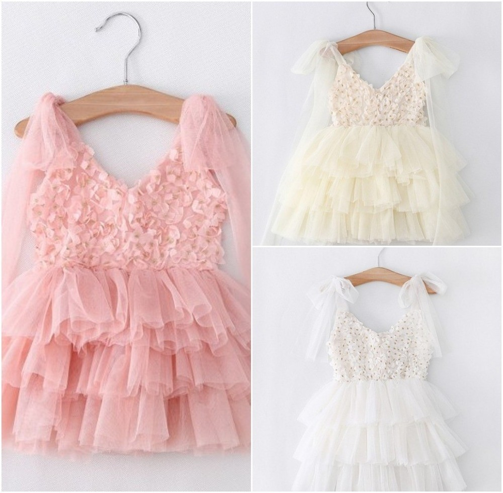 EMS-DHL-Free-Shipping-toddler-s-Little-Girl-s-Lace-Casual-kids-dress-Princess-Party-Dress