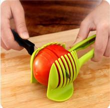 Handheld Creative Kitchen Fruit And Vegetable Slicer Orange Lemon Cutter Cake Clip Multi-function Kitchen Tool(China)