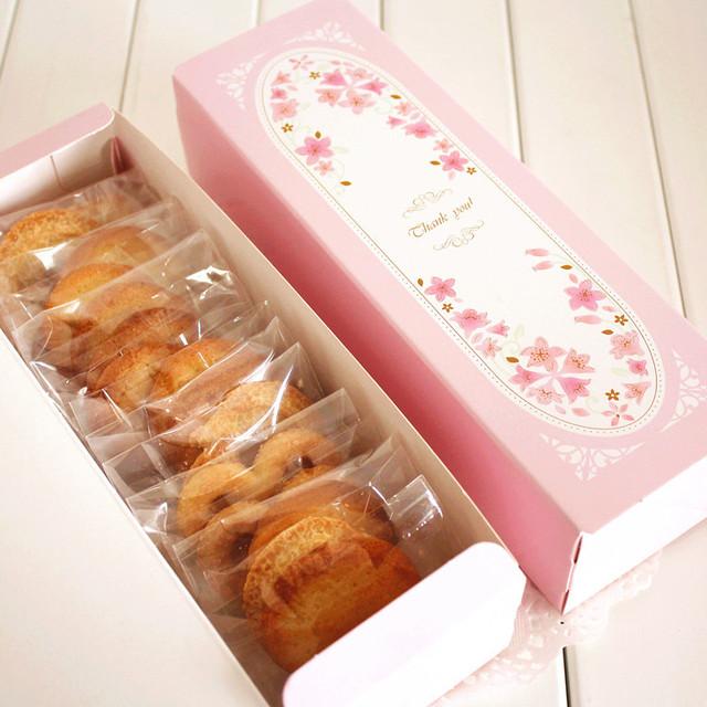 Pink Macaron Boxes (10)