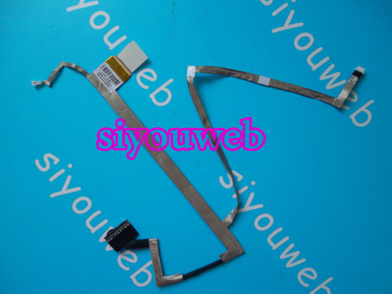 NEW for HP Pavilion DV6 DV6-3000  LED LCD LVDS SCREEN VIDEO FLEX CABLE 603657-001 DD0LX6LC001 DD0LX6LC000 new original laptop replacement lcd cable for hp pavilion dv6 6000 dv6 6100 dv6 6200 dv6z 6100 b2995050g00013 lcd lvds cable