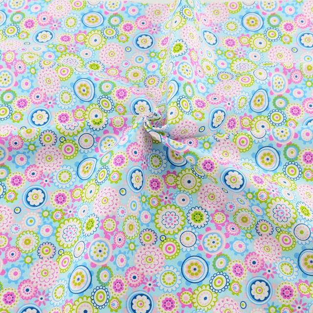 Aliexpress Buy 50cmx160cmpiece Printed Floral Pattern Cotton