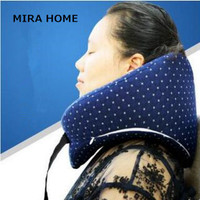 Soft U Shaped Neck Pillow Memory Foam Health Care Pillow Airplane Car Travel Pillows