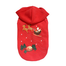 Christmas coat dogs clothes cotton pet sweater elk Christmas tree pattern Sweatshirts mascotas cheap-clothes-china dog costume