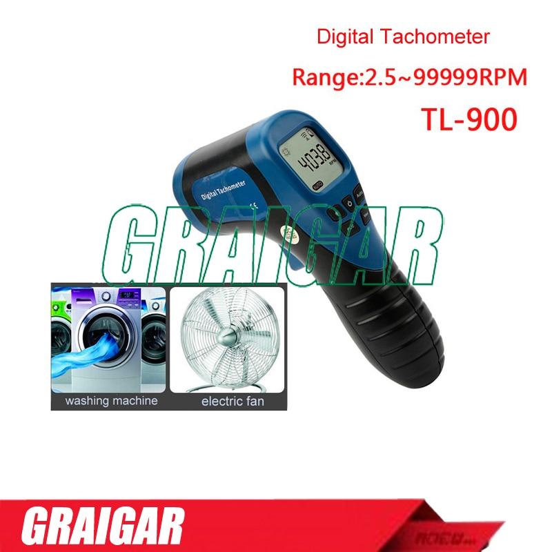 2.5-99999 laser digital Tachometer for motorcycle TL-900 2 stroke engine tachometer for electric motors