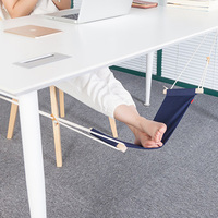 High Quality Hammock For Office Siesta Afternoon Sleep Nap With Desk Hanger Hammock Rest Foot Noon