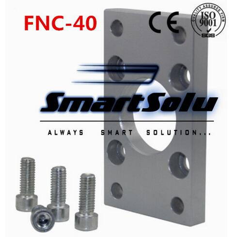 Free Shipping 5pcs/lots ISO6431 cylinder accessories FNC - 40, flange installation pieces, as FNC - 40, DNC, SE, SI 3 1063918