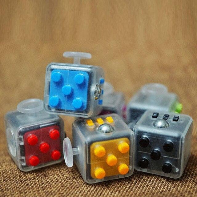 2017 Новый Непоседа Куб Игрушка Ручной Spinne Анти-стресс Снимает Тревогу Непоседа Куб Игрушка Подарки Для Детей Для Взрослых