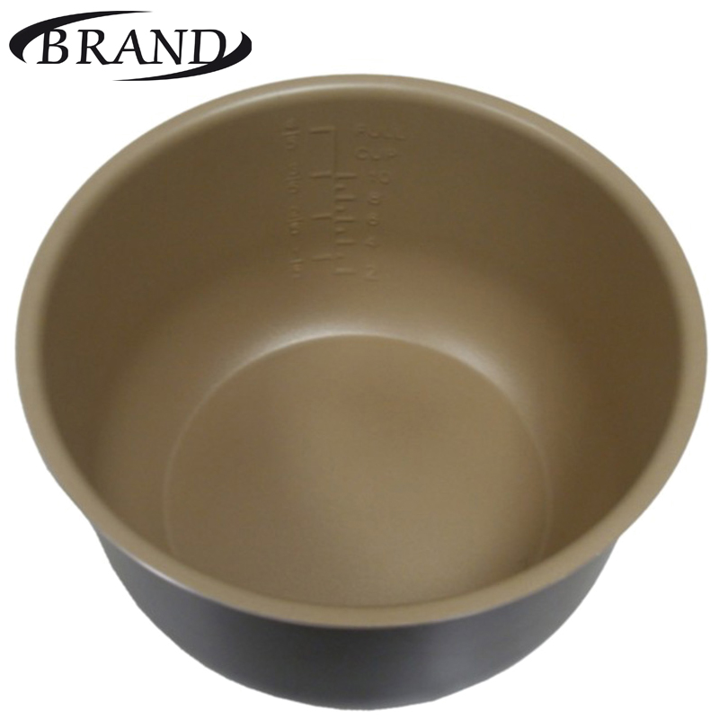 Inner pot 6050 bowl pan for multivarka, non stick coating, 5L, measure scale, Multi Cooker