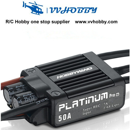 1 PCS Hobbywing new and hot Platinum 50A V3 Brushless ESC For 450 450L RC Helicopter eset nod32 антивирус platinum edition 3 пк 2 года