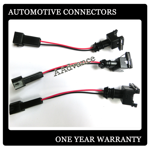 US $128.0  Japanese cars EV1 fuel Injector to OBD2 Plug male wiring on