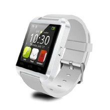 2016 Großverkauf der fabrik U8 Bluetooth Smartwatch Digital Handgelenk Gesunde Uhr Telefon Kamerad Android & IOS Smartphones Multifunktionale