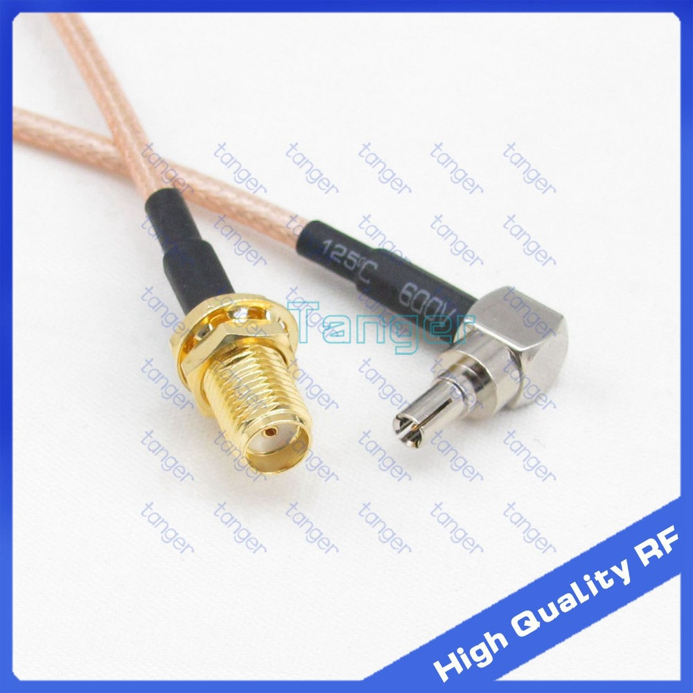 6 inch RG174 SMB FEMALE to FME MALE Pigtail Jumper RF coaxial cable 50ohm High Quality Quick USA Shipping