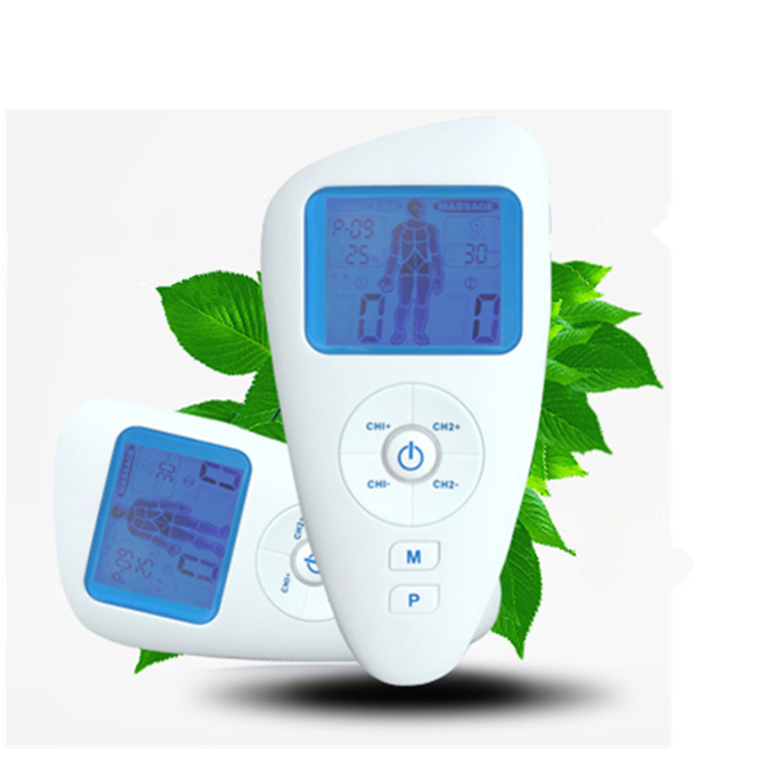 Tens EMS Massage function Automatic electric body massager machine Electrical Stimulator Full Body Relax Muscle Therapy