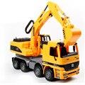 De gran Tamaño Simulataion Excavadora Modelo Juguetes de Los Niños, Novedad Miniatura Camiones de Juguete Modelo de Vehículo para Niños Regalos Envío gratis