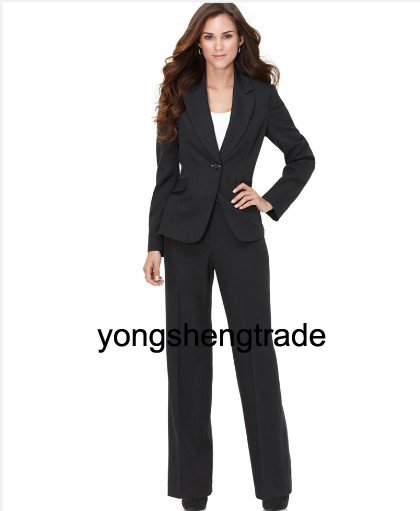 Black Women Business Suits S Designer Suit Custom Made 345