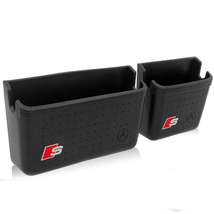 u14022 pcs abs car storage  u15dc  u01c8 u0d03 glove glove box phone holder