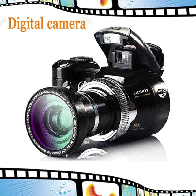 16mp cámara digital máxima protax/Polo dc510t SLR Cámara similar 5mp sensor CMOS 8x zoom digital Niza cámara de vídeo li-batería