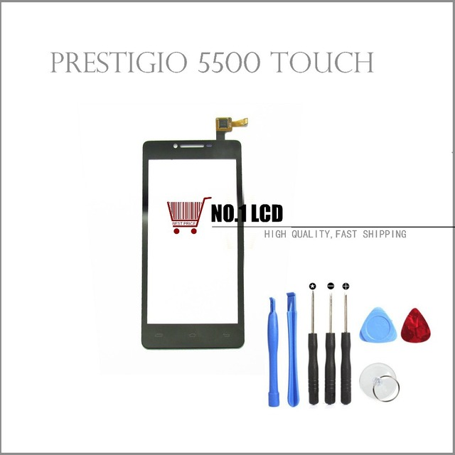 Original New Prestigio MultiPhone PAP 5500 Duo smartphone touch Screen Panel Glass Digitizer Replacement Free Shipping