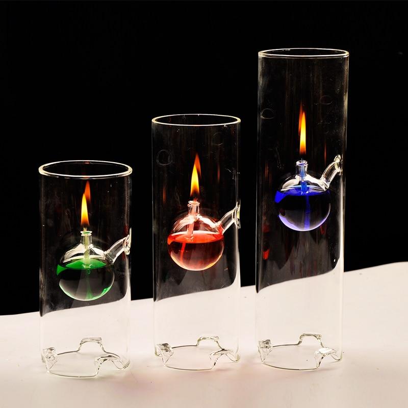 3 Stks/pak hoge kwaliteit olie kaars lamp creatieve ontwerp bruiloft kaarshouder sets kaars stand crystal kaars stok-in Kaarshouders van Huis & Tuin op  Groep 1