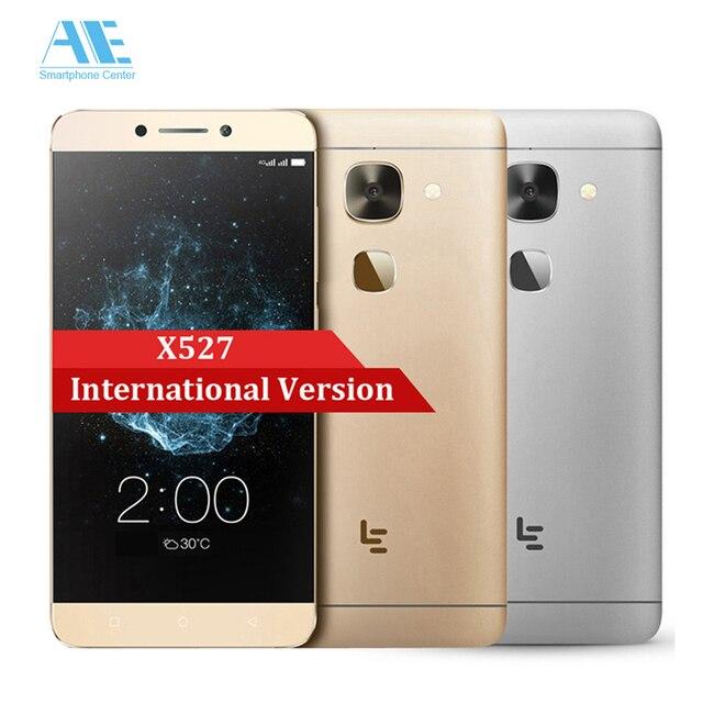 Оригинал letv le 2x527 snapdragon 652 окта основные android 6.0 сотовый Телефон 5.5 Inch 3 ГБ RAM 32 ГБ ROM Смартфон FDD LTE Mobile телефон