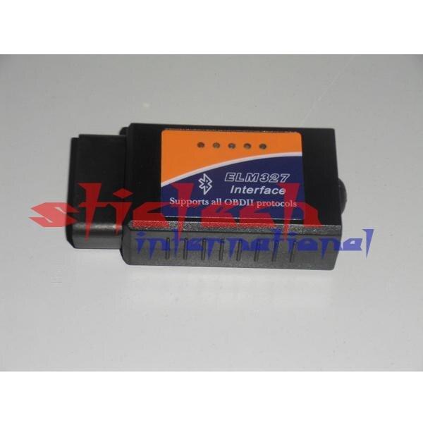 От DHL или FedEx 20 штук ELM327 OBD2 Bluetooth v2.1 V1.5 с PIC18F25K80 автомобиля Диагностика OBD 2 ELM 327 сканер