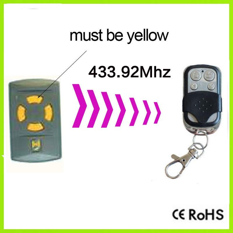 duplicator hormann HSM2, HSM4 433mhz garage door remote control replacement remote for hormann hsm2 868 hsm4 868mhz