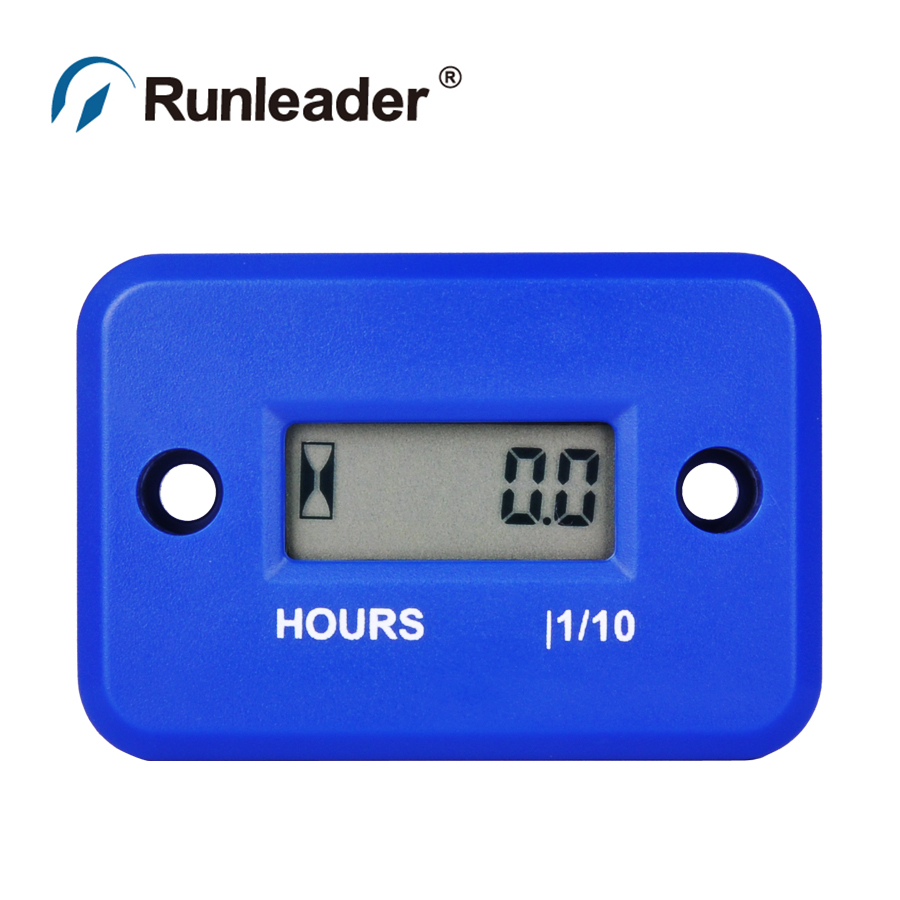 1pcs Waterproof Hour Meter for Gas Engine Motocycle CHAINSAW ATV Snowmobile Boat marine jet ski parameter