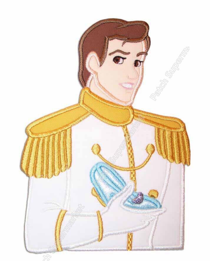 63 Large Fairy Tales Prince Charming Felt Applique Deco Diy Girl