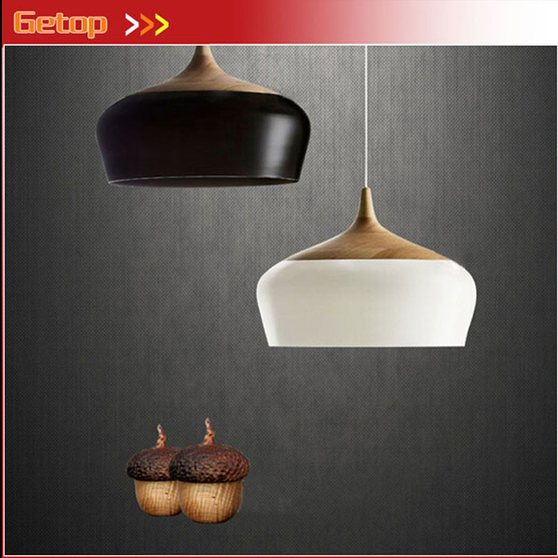 ZX  Hot Sale Solid Wood  Iron Nut E27 LED Chandelier Height-adjustable for Dining-room Bar Bedroom zx hot sale solid wood iron nut e27 led chandelier height adjustable for dining room bar bedroom
