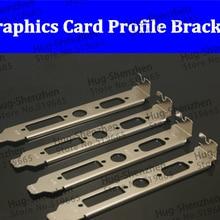 Оптом Китай компьютер шасси PCI профиль кронштейн crt видео DVI 12 см brackert для графическая карта-2 шт./лот