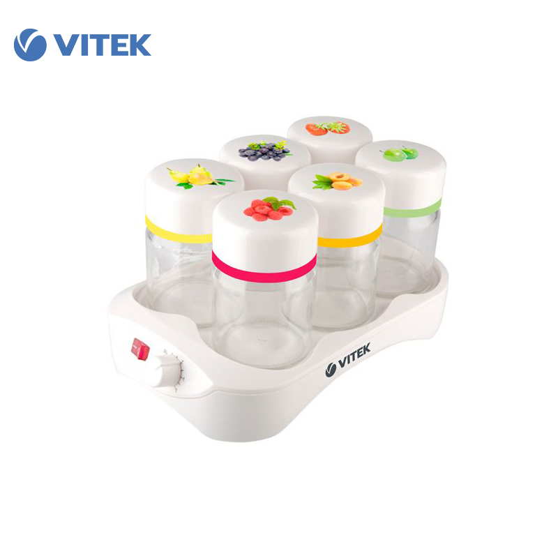 Yogurt Maker Vitek VT-260 yogurt maker thermoregulator kitchen appliances