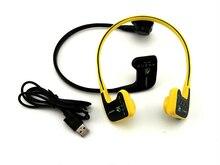 Wt905 Freeshipping Impermeable Deportes Auricular Inalámbrico Comunicación BoneConduction Apoyo Mp3 Stereo Music auricular de Los Auriculares