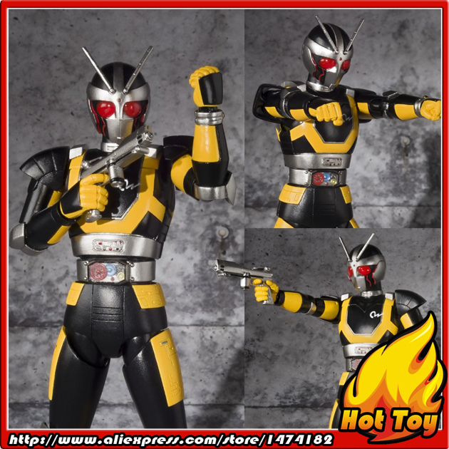100% Original BANDAI Tamashii Nations S.H.Figuarts (SHF) Action Figure - ROBORIDER from Masked Rider Black RX