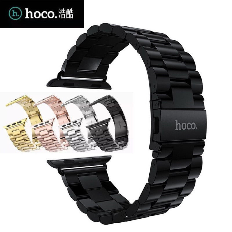 HOCO Stainless Steel Strap Classic Buckle Watch Bands for Apple Watch iWatch 38mm 42mm от Aliexpress INT