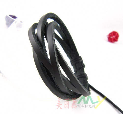 Южнокорейский Модный популярный хип-хоп аксессуары коричневый черный браслет 50 шт. в партии