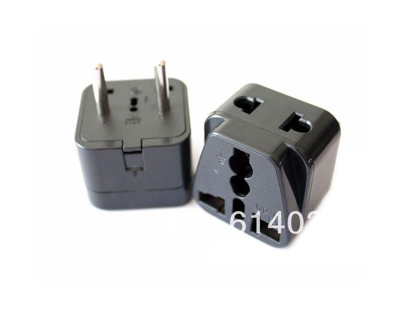 Wdi 9a Travel Adaptor Plug Converter In Black Ce Marked U A E South America Russia China