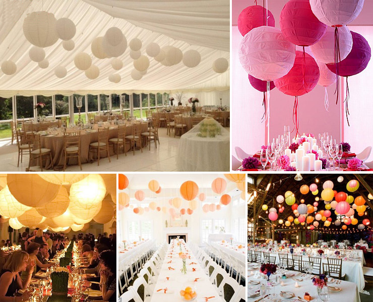 Whole 10 30cm Paper Lanterns Lamp Chinese Lantern Party Wedding Decoration 3 Sizes Mixed 100pcs Lot Free Shipping In From Home Garden