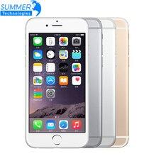 Оригинальный Разблокирована Apple iPhone 6 Мобильных Телефонов WCDMA LTE 4.7 'IPS 1 ГБ ОПЕРАТИВНОЙ ПАМЯТИ 16/64/128 ГБ ROM GSM iPhone6 Использовать Мобильный Телефон