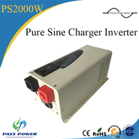 high quality low frequency intelligent 2000w 2kw pure sine wave solar power inverters with built-in charger