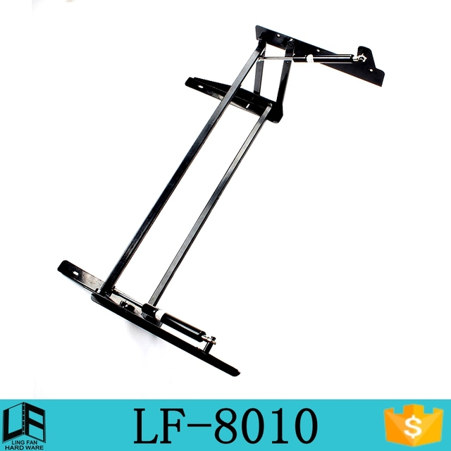 Furniture Hydraulic Extension Dining Table Hardware Hinge, Lift Top Coffee  Table Mechanism LF 8010